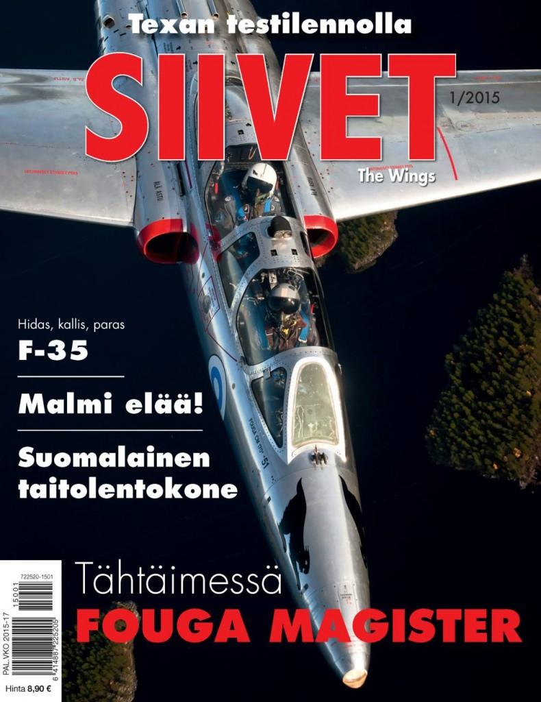 Lentonäytöksestä lehdentekoon (2015/1)