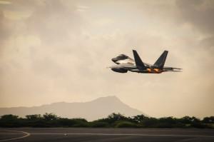 Mitä tulee F-22 Raptorin jälkeen? Kuva: U.S. Air National Guard / Robert Cabuco