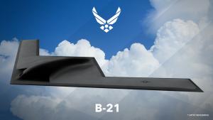 B-21-pommikoneen ensimmäinen luonnos julkaistiin