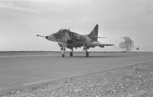 Skyhawkin jäähyväiset Israelissa