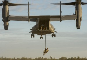 V-22 Ospreyn tuotanto päättyy