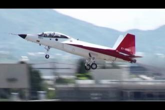 Japanin 5. sukupolven hävittäjäprototyypin ensilento oli tänään