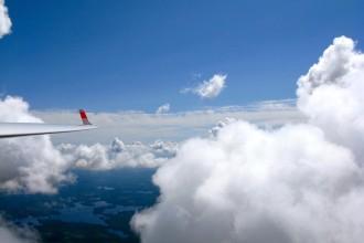 purjelento, pilvilento, pilvet