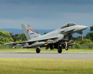 Eurofighter Typhoonin uusien aseiden ja AESA-tutkan integraatiot etenevät