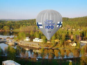 Suomi-kuumailmapallo lentää sinun tuellasi – Suomen Ilmailumuseo tempaisee
