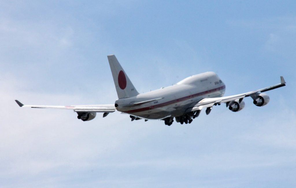 Japani Air Force One Boeing 747
