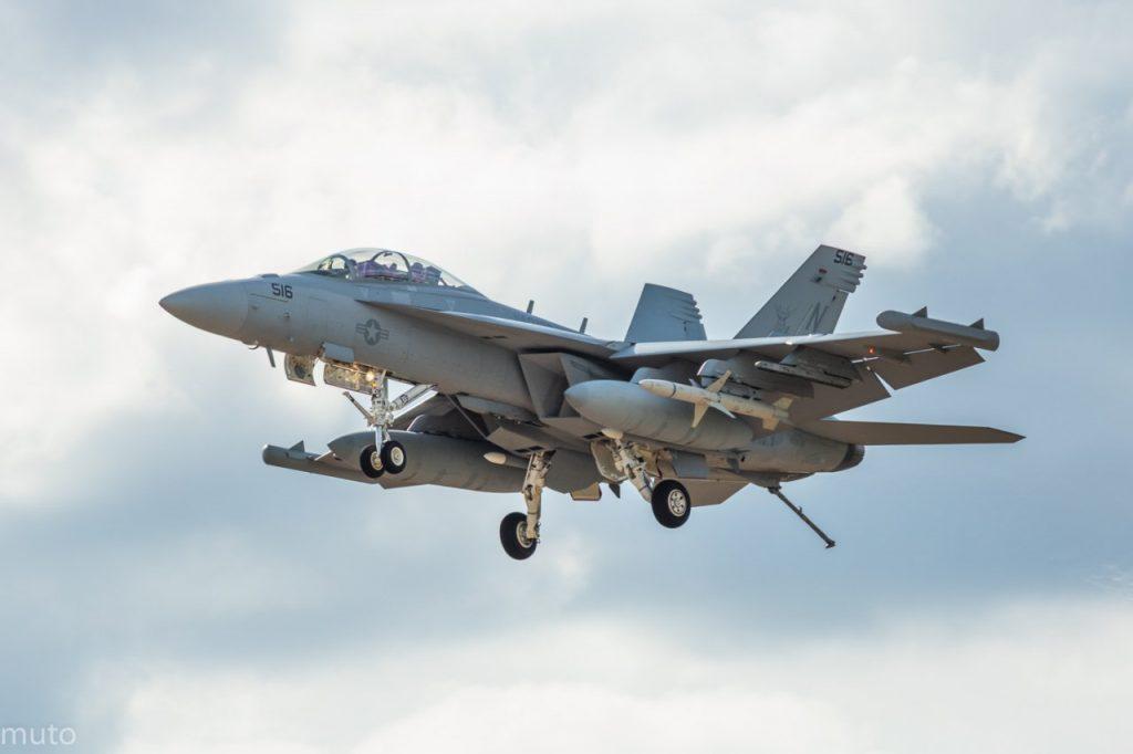 "Boeing EA-18G Growler. Kuva: Jari ""Muto"" Viitala"