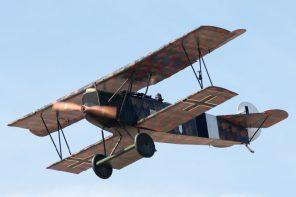 """Fokker D.VII. Kuva: Jari """"Muto"""" Viitala"""