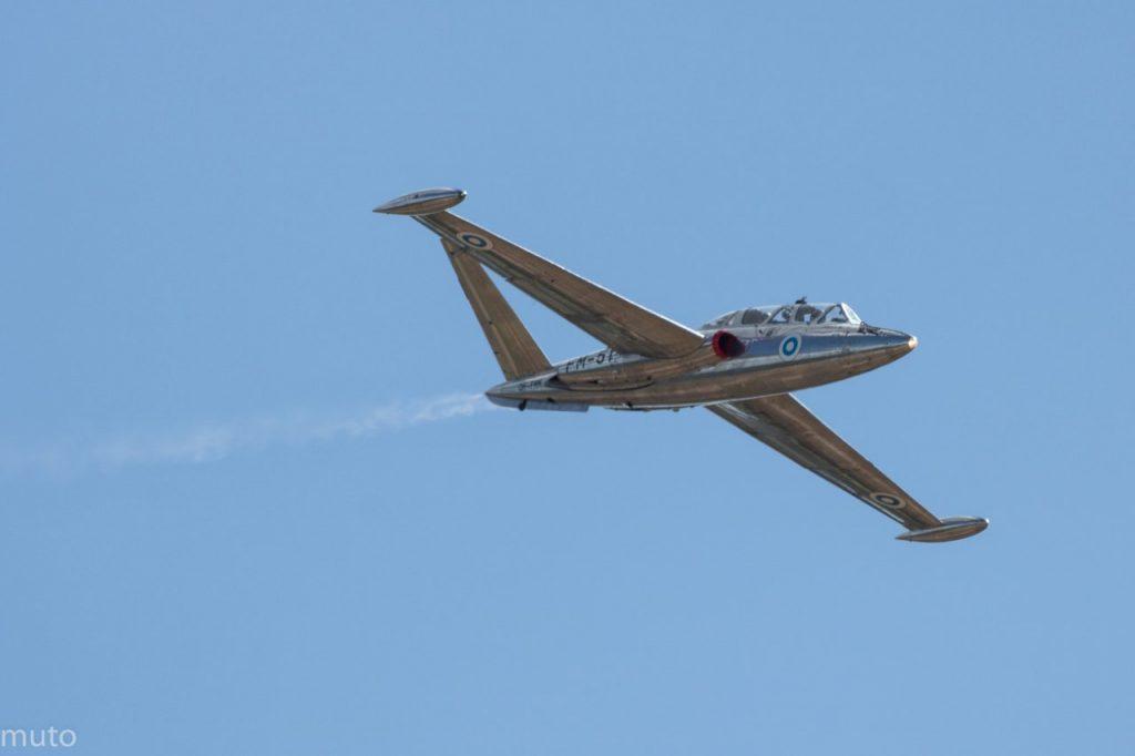 """Fouga Magister CM.170. Kuva: Jari """"Muto"""" Viitala"""