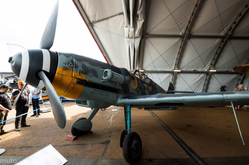 """Messerschmitt 109 G-6. Kuva: Jari """"Muto"""" Viitala"""