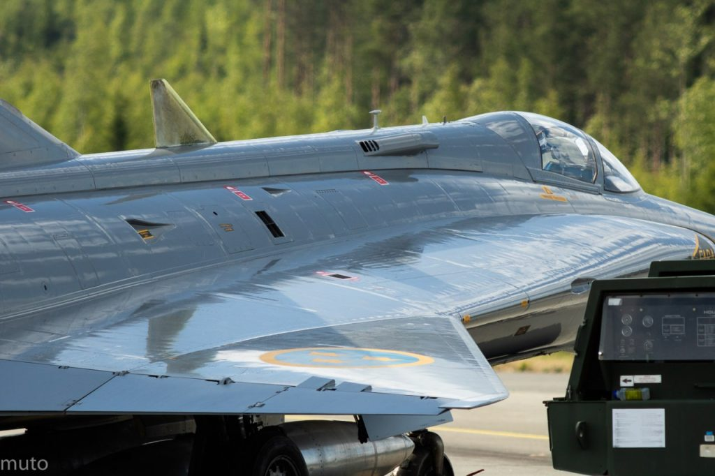 "Saab J35 Draken. Kuva: Jari ""Muto"" Viitala"