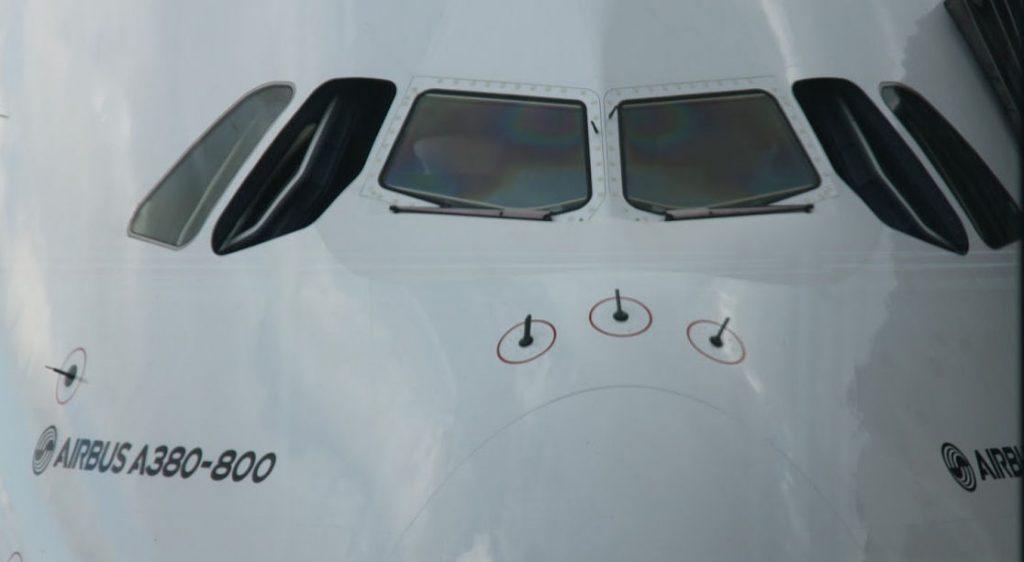 Airbus A380. Kuva: Benjamin Helander