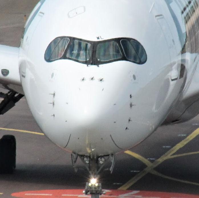 Airbus A350. Kuva: Benjamin Helander