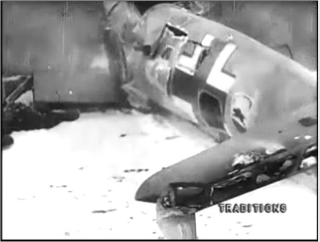 Alasammuttu saksalaispommikone. Kuva: Ilya Kopalin.