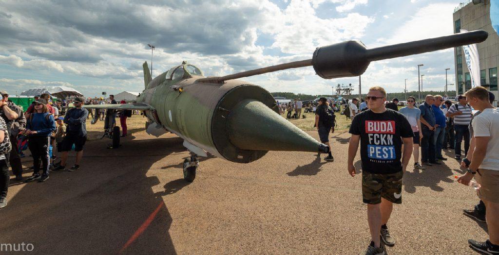 MiG-21bis. Kuva: Jari Viiala
