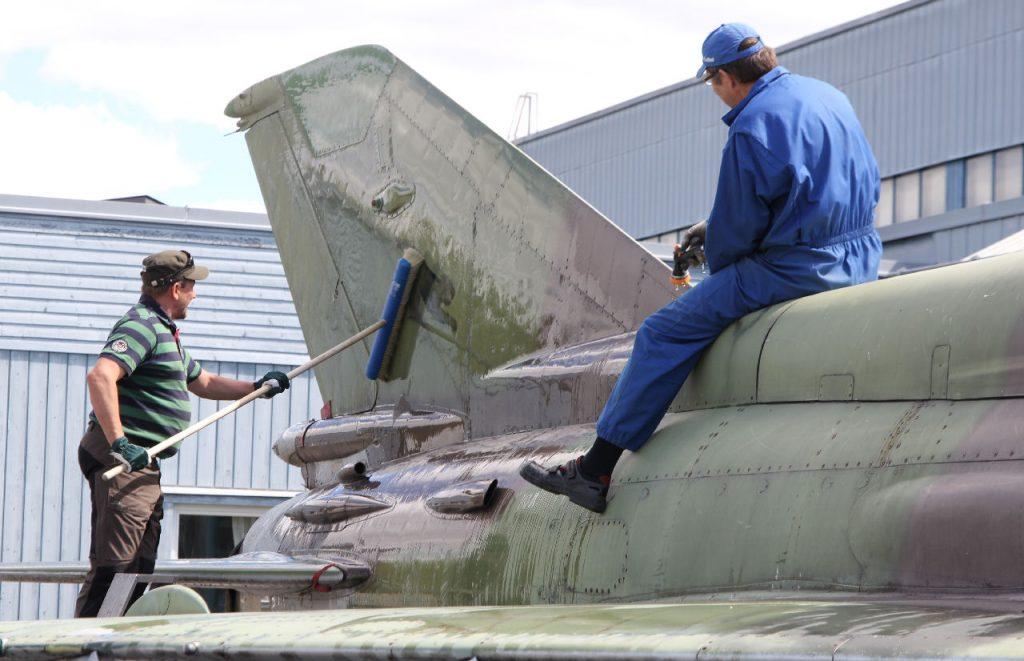 MiG-21bis. Kuva: Jukka O. Kauppinen