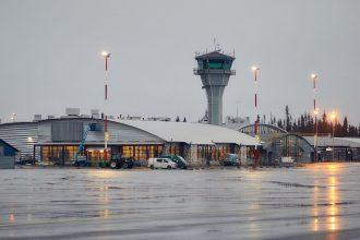 Kittilän lentoasema. Kuva: Pasi Salminen / Finavia.