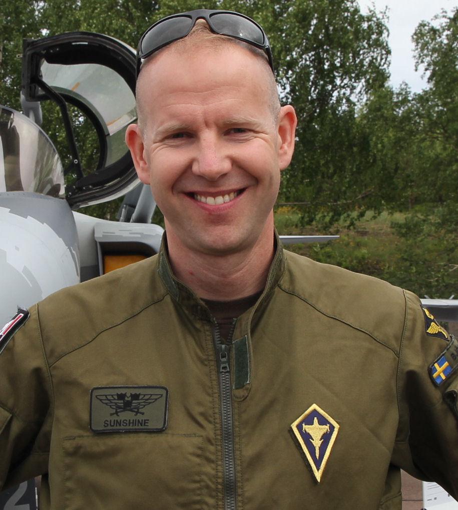 """Henrik """"Sunshine"""" Björling. Kuva: Jukka O. Kauppinen."""