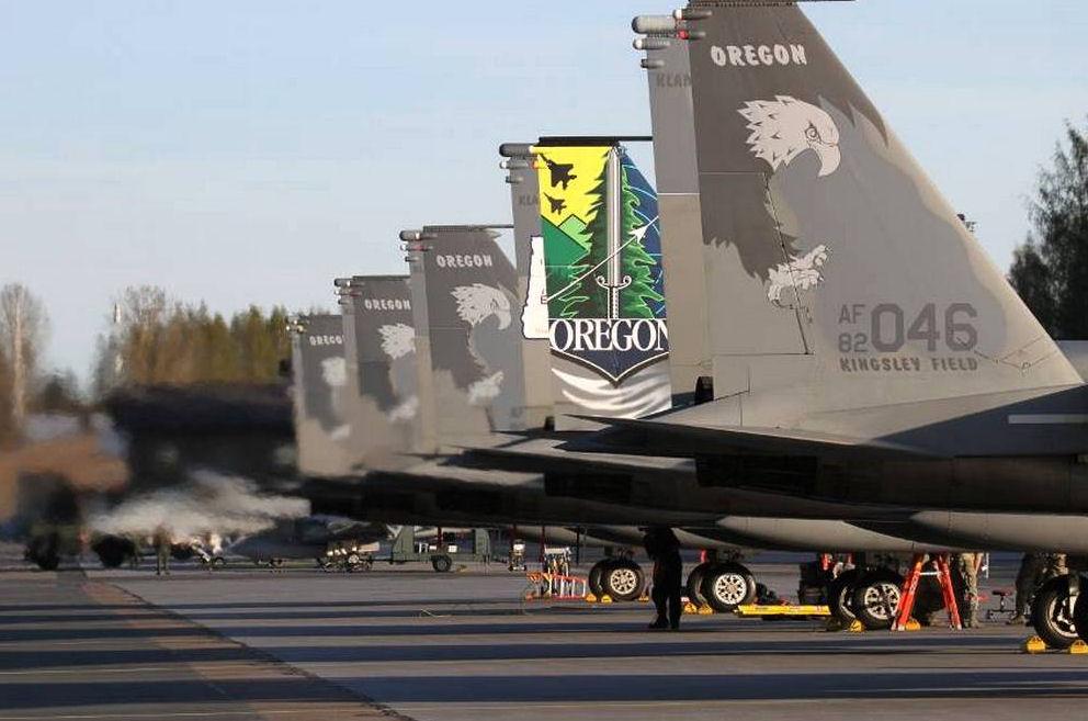 F-15 Oregon Air National Guard
