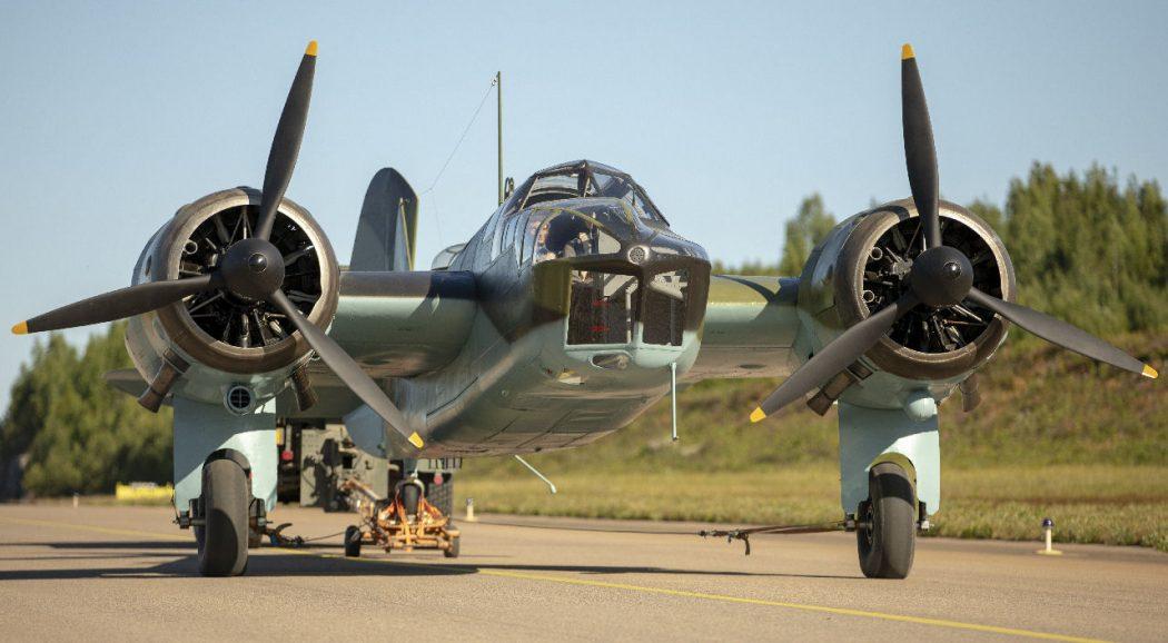 Bristol Blenheim BL-200. Kuva: Joel Blomster.
