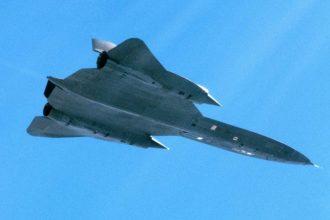 SR-71 Blackbird. Kuva: Ruotsin Ilmavoimat