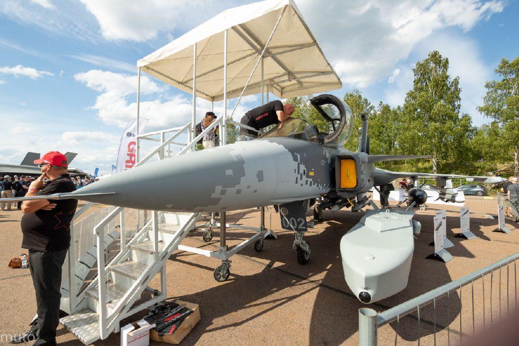 Saab JAS 39E Gripen. Kuva: Jari Viitala.