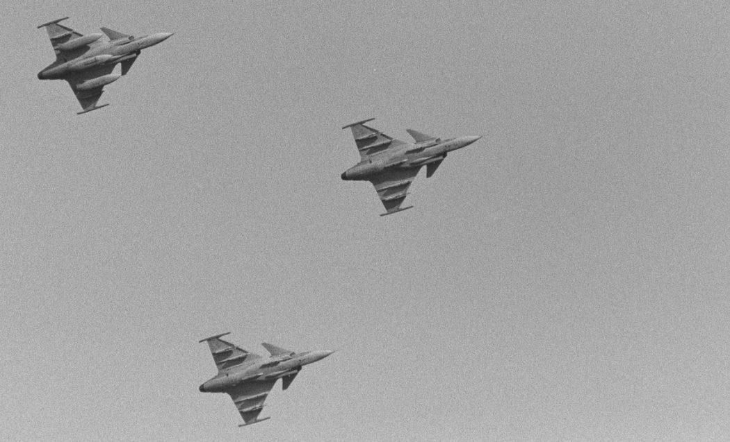 Saab JAS 39C Gripen. Kuva: Jari Viitala.