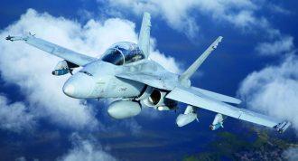 F/A-18C Hornet. Kuva: Ilmavoimat.