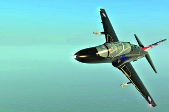 Digital Combat Simulator, DCS: Hawk T.1A. Siivet 2/2015.
