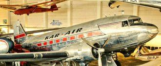 DC-3 / Karair. Kuva: Suomen ilmailumuseo.