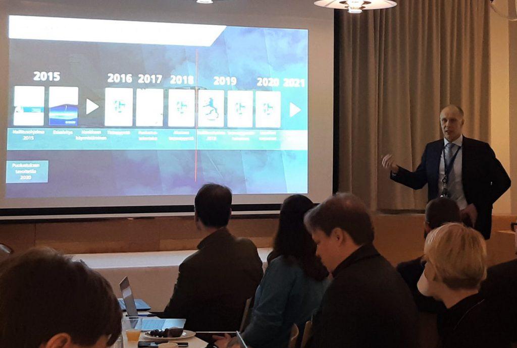 HX-hankkeen ohjelmajohtaja Lauri Puranen.