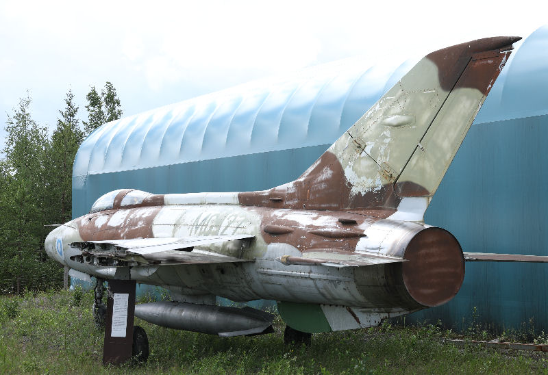 MiG-21-valemaali. Kuva: Jukka O. Kauppinen